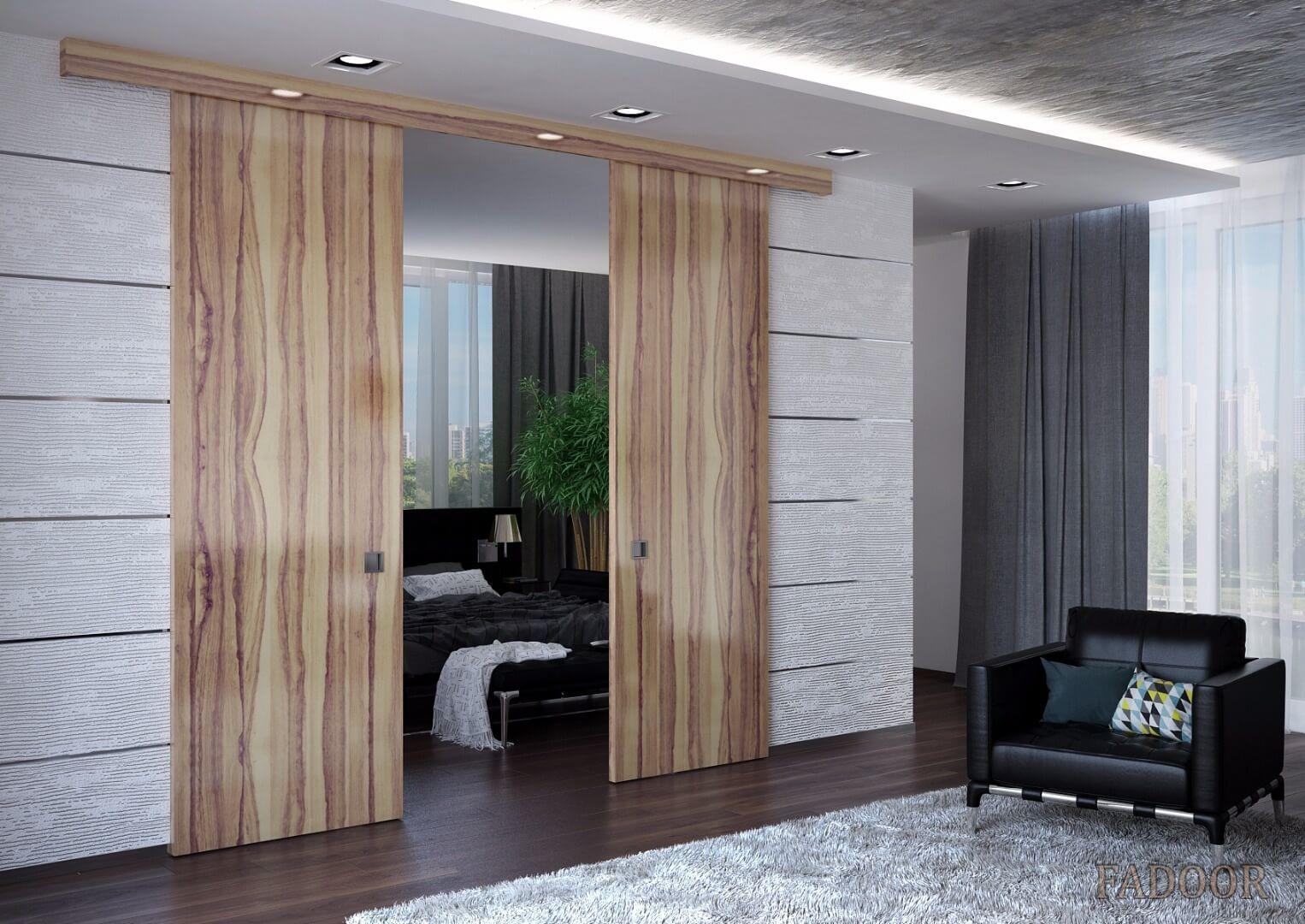 Раздвижные межкомнатные двери - когда любое пространство важно