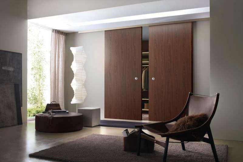 Деревянные раздвижные двери наружные