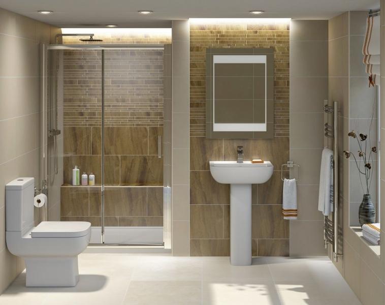 Раздвижные двери душ