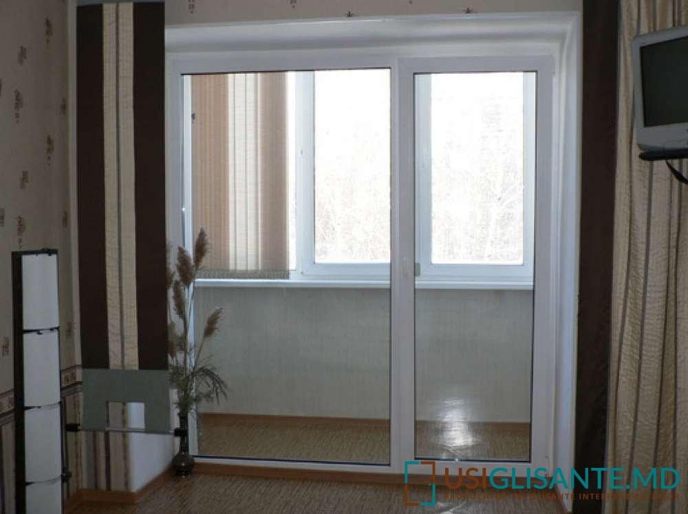 Стильные французские окна на балкон в квартире - 21 фото.
